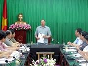 阮春福总理:台风过后南定省应齐心协力恢复生产