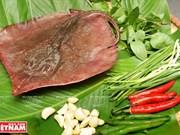 岘港市的特产:青椒烤鳐鱼