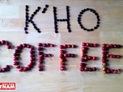 "哥霍族人的清洁咖啡品牌""K'Ho Coffee"""