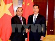 阮春福总理会见中国国务院副总理张高丽