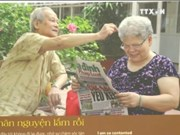 """""""老人的故事""""图片展在河内举行"""