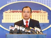 越南对中国三沙市举行第二届人大代表选举工作和在黄沙群岛海域展开非法巡逻活动作出表态