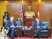 英国贸易投资大臣普睿勋爵:英方继续支持欧盟与越南的自贸协定