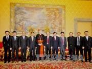 越南外交部副部长裴青山对梵蒂冈进行工作访问