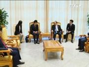 越南政府总理阮春福会见日本驻越大使馆公使