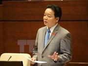 越南第十四届国会第二次会议召开首场质询会