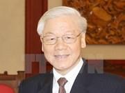 越共中央总书记阮富仲即将对老挝进行正式友好访问