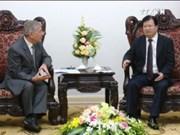 越南政府副总理郑廷勇会见欧盟主管环境事务执委维拉