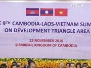 柬老越发展三角区第9届峰会开幕