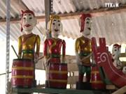 越南水上木偶戏制作艺术