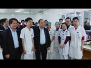 阮春副总理视察富寿省经济社会发展工程