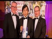 越南博士荣获英国贝尔法斯特大学优秀青年科学家称号