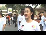 关爱河内儿童公益善跑活动在河内举行