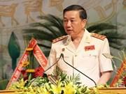 越南公安部长苏林访问泰国