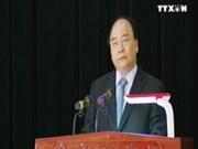 阮春福总理走访第三军区242步兵旅