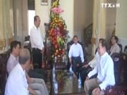 西南部地区事务指导委员会向永隆省信教群众致以圣诞祝福