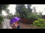 热带台风洛坦登陆该菲律宾
