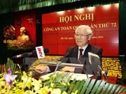 越共中央总书记阮富仲出席第72次全国公安会议