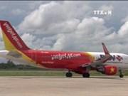 越捷航空公司开通胡志明市至台湾台中直达航线