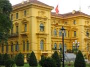 越南主席府跻身世界十三大最美官邸