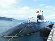 """阮春福总理出席""""186-岘港""""号和""""187-巴地头顿""""号潜艇升旗仪式(组图)"""