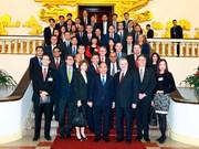 越南领导人会见来访的国际客人(组图)