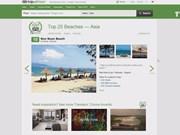 越南两个海滩跻身亚洲最佳海滩榜单
