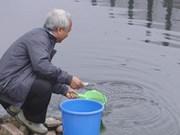 越南科学家将苏历江污水净化成饮用水