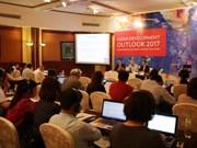 亚洲开发银行预测今年越南经济增速为6.5%