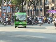 """胡志明市推出""""环城游""""电动观光车线路"""