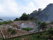 占婆岛清理垃圾仍需努力