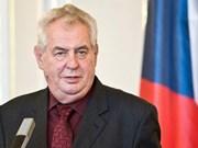 捷克总统办公厅:越南是捷克十分重要的合作伙伴