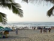 夏天的岘港海滩热闹非凡(组图)