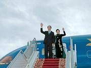 国家主席陈大光和夫人访问白俄罗斯的相关活动报道(组图)