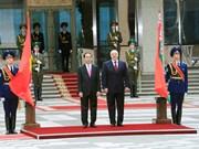 亚历山大·卢卡申科总统举行隆重仪式 欢迎陈大光主席一行访白(组图)