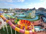东南亚最为现代的水上乐园颇受游客的青睐