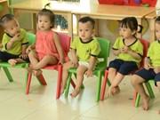 越南努力提高学前教育质量