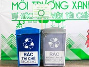 胡志明市强化住宅区生活垃圾分类工作