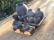 芒筝黑傣族的传统陶器制作业