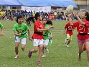 橄榄球为促进越南性别平等做出贡献