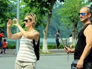 今年7月份河内接待外国游客量同比增长17%