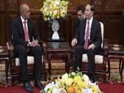 越南国家主席陈大光:不断巩固越古特殊关系