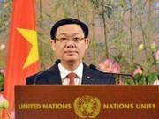 越南政府副总理王廷惠访问瑞士 出席越南加入联合国40周年纪念仪式(组图)