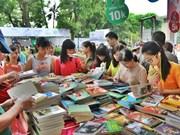"""""""图书与创业""""的2017年河内图书节开幕"""