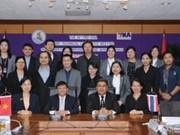 越南通讯社与泰国公共关系部一致同意加强合作关系