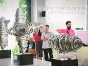 2017年森林艺术节开幕   多国艺术家汇聚越南