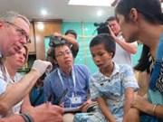 英国慈善机构为面部畸形患儿找回失去的笑容