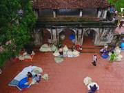 钟村—越南北部斗笠的摇篮