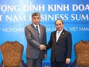 越南政府总理阮春福会见国际代表(组图)