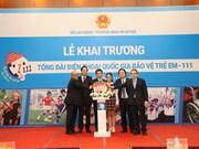 111越南儿童保护国家热线正式开通